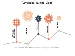 Advanced Invoice Value Ppt Powerpoint Presentation Diagram Ppt Cpb