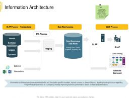 Advanced Local Environment Information Architecture Data Warehousing Ppt Gridlines