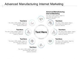 Advanced Manufacturing Internet Marketing Ppt Powerpoint Presentation Cpb