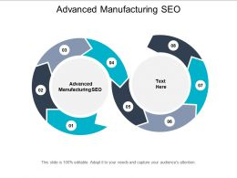 Advanced Manufacturing SEO Ppt Powerpoint Presentation File Graphics Example Cpb