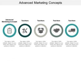 Advanced Marketing Concepts Ppt Powerpoint Presentation File Design Ideas Cpb