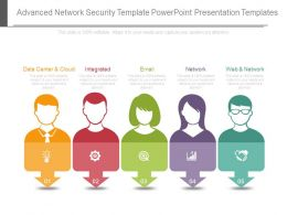 Advanced Network Security Template Powerpoint Presentation Templates