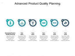 Advanced Product Quality Planning Ppt Powerpoint Presentation Outline Format Cpb