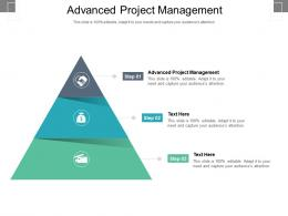 Advanced Project Management Ppt Powerpoint Presentation Summary Ideas Cpb