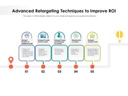 Advanced Retargeting Techniques To Improve ROI