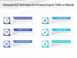 Advanced SEO Techniques For Increased Organic Traffic On Website