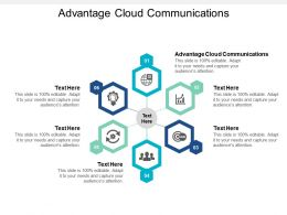 Advantage Cloud Communications Ppt Powerpoint Presentation Layout Cpb