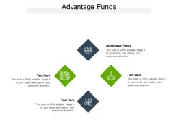 Advantage Funds Ppt Powerpoint Presentation Model Graphics Template Cpb