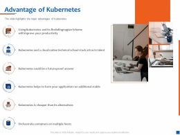 Advantage Of Kubernetes Attracts Talent Ppt Powerpoint Presentation Templates