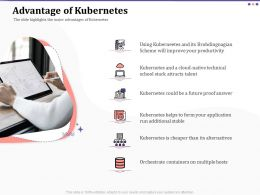 Advantage Of Kubernetes Ppt Powerpoint Presentation File Example Topics