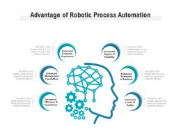 Advantage Of Robotic Process Automation