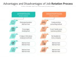 Advantages And Disadvantages Of Job Rotation Process