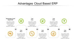 Advantages Cloud Based ERP Ppt Powerpoint Presentation Ideas Cpb