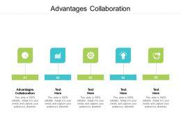 Advantages Collaboration Ppt Powerpoint Presentation Ideas Graphic Images Cpb