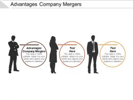 Advantages Company Mergers Ppt Powerpoint Presentation Gallery Smartart Cpb