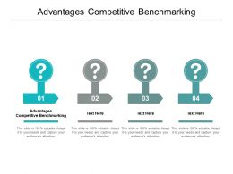 Advantages Competitive Benchmarking Ppt Powerpoint Presentation Ideas Visual Aids Cpb