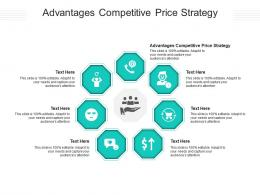 Advantages Competitive Price Strategy Ppt Powerpoint Presentation Pictures Slides Cpb