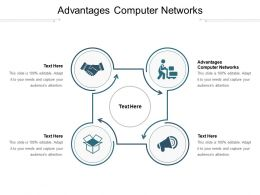 Advantages Computer Networks Ppt Powerpoint Presentation Show Shapes Cpb