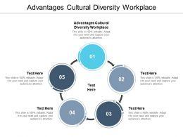 Advantages Cultural Diversity Workplace Ppt Powerpoint Presentation Ideas File Formats Cpb