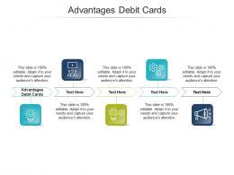 Advantages Debit Cards Ppt Powerpoint Presentation Outline Example Cpb