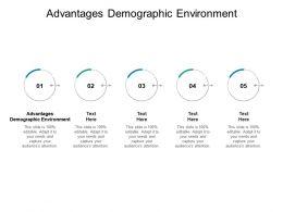 Advantages Demographic Environment Ppt Powerpoint Presentation Inspiration Cpb