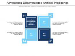 Advantages Disadvantages Artificial Intelligence Ppt Powerpoint Presentation Cpb