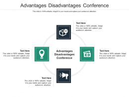 Advantages Disadvantages Conference Ppt Powerpoint Presentation Summary File Formats Cpb