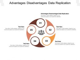 Advantages Disadvantages Data Replication Ppt Powerpoint Presentation Gallery Slides Cpb
