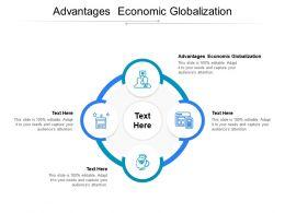 Advantages Economic Globalization Ppt Powerpoint Presentation Ideas Cpb