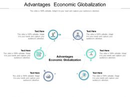 Advantages Economic Globalization Ppt Powerpoint Presentation Tips Cpb