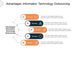 Advantages Information Technology Outsourcing Ppt Powerpoint Presentation Slides Pictures Cpb
