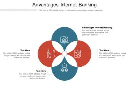 Advantages Internet Banking Ppt Powerpoint Presentation Styles Shapes Cpb
