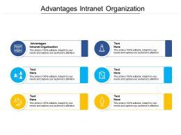 Advantages Intranet Organization Ppt Powerpoint Presentation Portfolio Images Cpb
