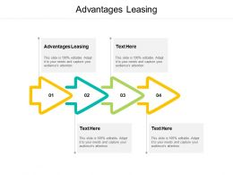 Advantages Leasing Ppt Powerpoint Presentation Styles Designs Download Cpb