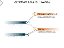 Advantages Long Tail Keywords Ppt Powerpoint Presentation Guidelines Cpb
