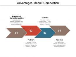 Advantages Market Competition Ppt Powerpoint Presentation Professional Picture Cpb