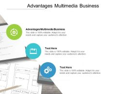 Advantages Multimedia Business Ppt Powerpoint Presentation Infographics Cpb