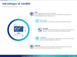 Advantages Of Ansible Free Powerpoint Presentation Slide