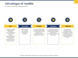 Advantages Of Ansible Powerful Ppt Powerpoint Presentation Slides Example