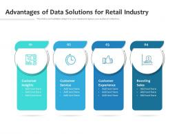 Advantages Of Data Solutions For Retail Industry