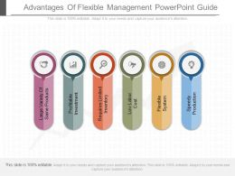 Advantages Of Flexible Management Powerpoint Guide