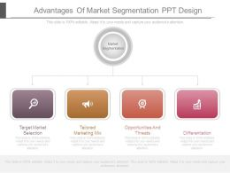 Advantages Of Market Segmentation Ppt Design