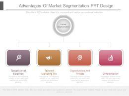 Advantages Of Market Segmentation Ppt Design