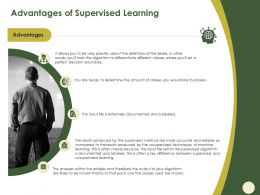 Advantages Of Supervised Learning Boundary Ppt Powerpoint Presentation Show Influencers