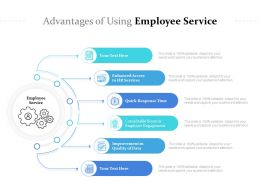Advantages Of Using Employee Service