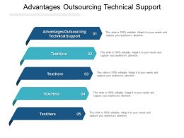 Advantages Outsourcing Technical Support Ppt Powerpoint Presentation Inspiration Files Cpb