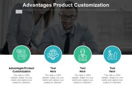 Advantages Product Customization Ppt Powerpoint Presentation Layouts Gallery Cpb