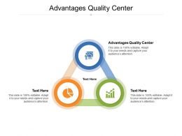 Advantages Quality Center Ppt Powerpoint Presentation Gallery Background Designs Cpb