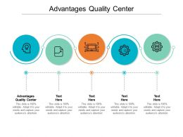 Advantages Quality Center Ppt Powerpoint Presentation Show Skills Cpb