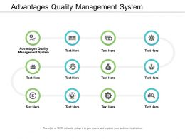 Advantages Quality Management System Ppt Powerpoint Presentation Styles Example Introduction Cpb